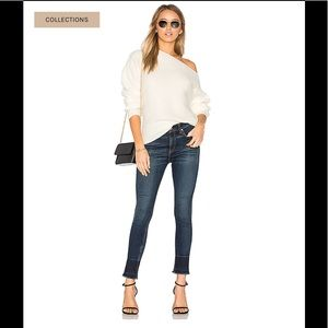 Rag And Bone High Rise Ankle Skinny Jeans